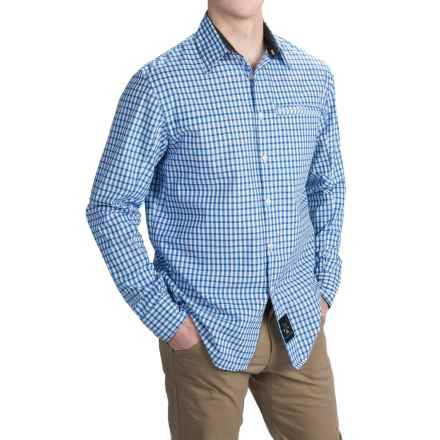 Dolly Varden Roaring Fork Shirt - UPF 30, Long Sleeve (For Men) in Blue Check - Closeouts