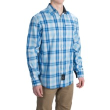 Dolly Varden Roaring Fork Shirt - UPF 30, Long Sleeve (For Men) in Blue Plaid - Closeouts