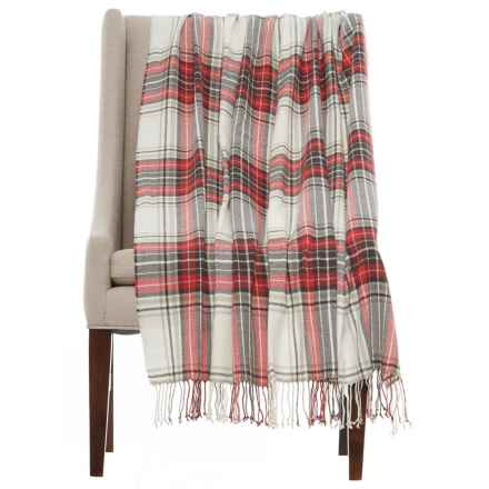 "Domain Leigh Throw Blanket - 50x60"" in Red - Closeouts"