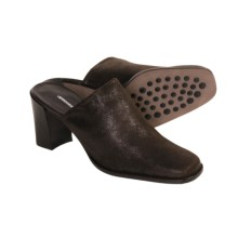Donald J Pliner Inoa Stretch Mules - Handmade (For Women) in Expresso - Closeouts