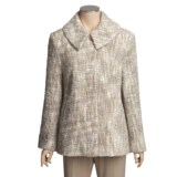 Donegal Design Mohair Boucle Jacket (For Women)