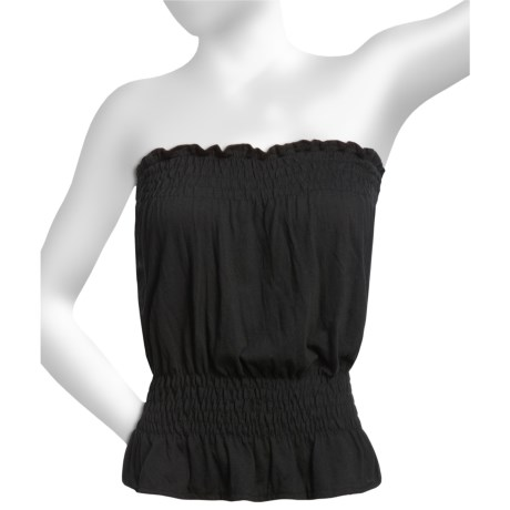 Donna Nicole Jersey Knit Tube Top (For Women) in Black