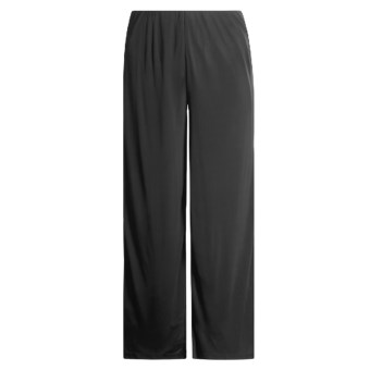 Donna Ricco Collection Jersey Pants with Stretch Lining (For Women) in Black
