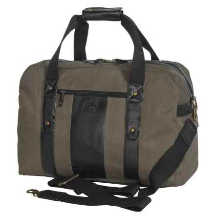Dopp Hampton Carry-All Duffel Bag in Olive - Closeouts