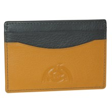 Dopp Tribeca RFID-Blocking Front Pocket Get-Away Wallet in Yellow - Closeouts