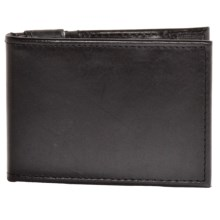Dopp Verona Leather Thinfold Money Clip Wallet in Black - Closeouts