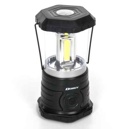 Dorcy LED Area Lantern - 950 Lumens in Black - Closeouts
