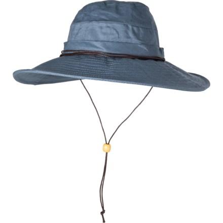 353dbbea29893 Dorfman Pacific Acad Boonie Hat - Linen (For Women) in Blue