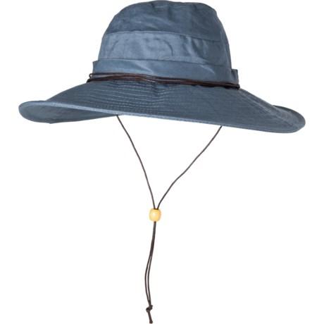 9c897d8795940 Dorfman Pacific Acad Boonie Hat - Linen (For Women) in Blue
