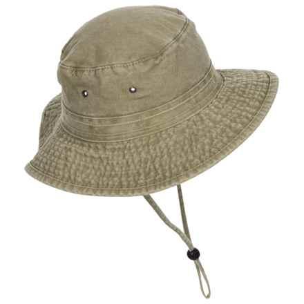 Dorfman Pacific Boonie Hat - UPF 50+ (For Men) in Khaki - Closeouts