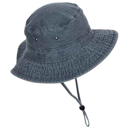 Dorfman Pacific Boonie Hat - UPF 50+ (For Men) in Navy - Closeouts