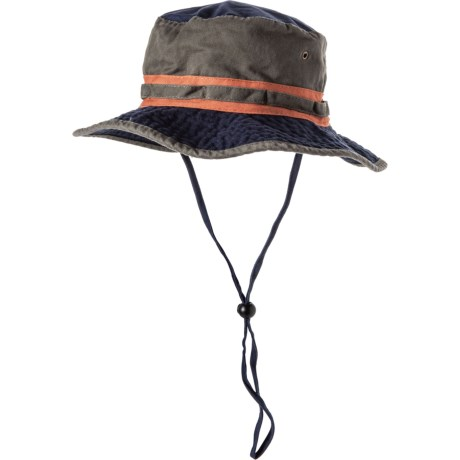 fa7fcf61d0288 Dorfman Pacific Color-Block Boonie Hat - UPF 50+ (For Men) in