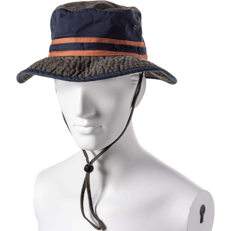 02c62c2e Dorfman Pacific Color-Block Boonie Hat (For Men) - Save 63%