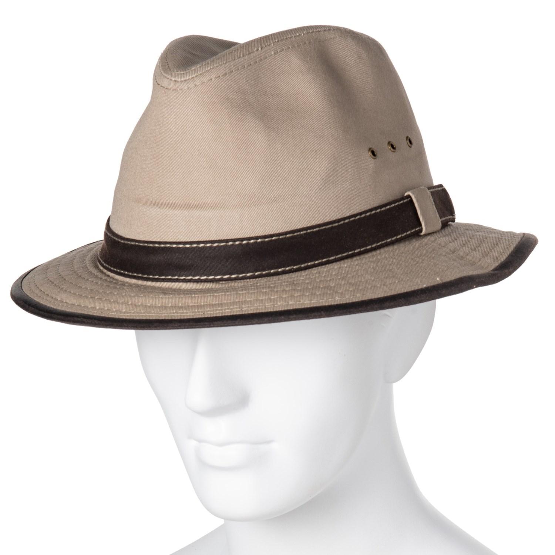 a9f777ab83af6 Dorfman Pacific Contrast Trim Safari Hat (For Men) - Save 67%
