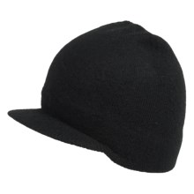 Dorfman Pacific Deluve Radar Cap - Wool (For Men) in Black - Closeouts