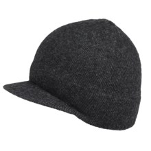 Dorfman Pacific Deluve Radar Cap - Wool (For Men) in Charcoal - Closeouts