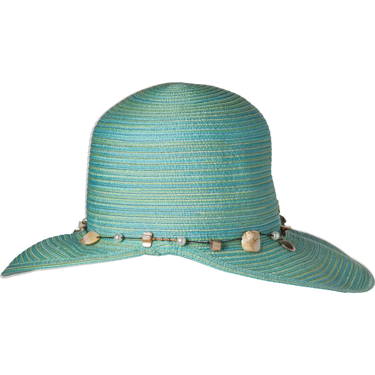 ede71f976 Dorfman Pacific Face Saver Hat with Bead Trim - UPF 50 (For Women)