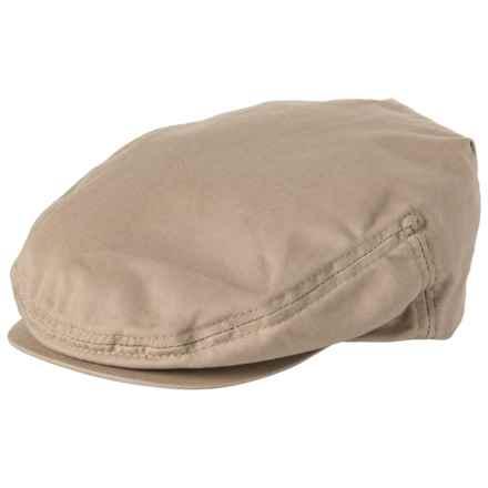 6208ea46 Dorfman Pacific Garment-Washed Twill Ivy Cap (For Men) in Khaki