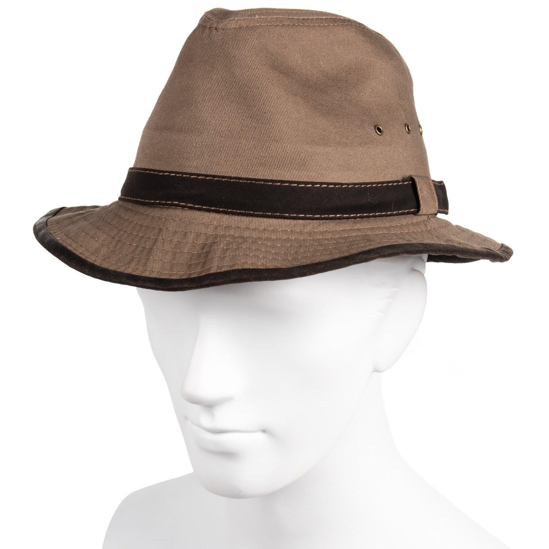 Dorfman Pacific Garment Washed Twill Safari Hat (For Men) - Save 62% c4698be2b99b
