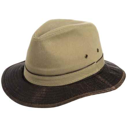 497abbb44ed Dorfman Pacific Garment-Washed Twill Safari Hat - UPF 50+