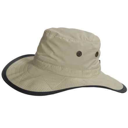 Dorfman Pacific Headwear Boonie Hat - Supplex® Nylon (For Women) in Fossil - Closeouts