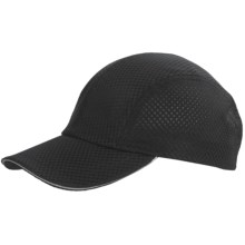 Dorfman Pacific Micromesh Sports Cap (For Women) in Black - Closeouts