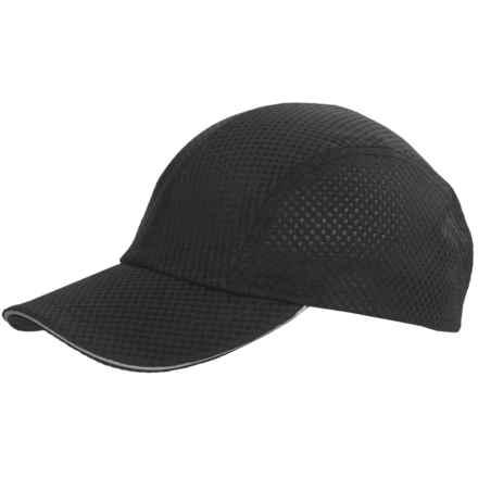 Dorfman Pacific Micromesh Sports Cap (For Women) in Black - Closeouts