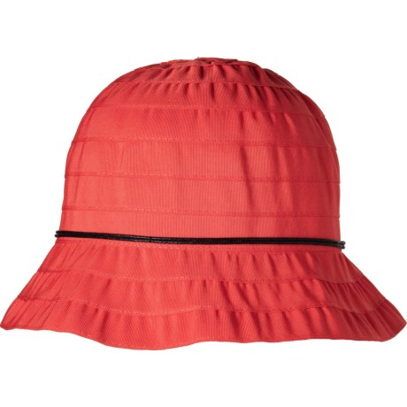 46f277e7bea Dorfman Pacific Packable Ribbon Bucket Hat (For Women) - Save 64%