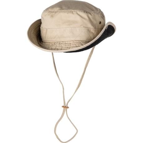 71a2c4c3 Dorfman Pacific West Marine GWT Bucket Hat (For Men) in Khaki/Black