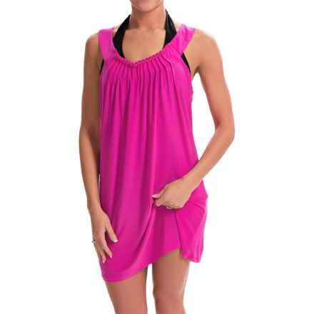 Dotti Beaded U-Neck Cover-Up Dress - Sleeveless (For Women) in Beach Bliss - Closeouts