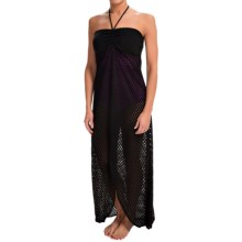 Dotti Maxi Cover-Up Dress - Strapless (For Women) in Black - Closeouts