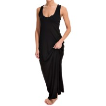 Dotti Racerback Cover-Up Maxi Dress - Sleeveless (For Women) in Black - Closeouts