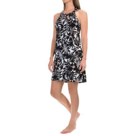 Dotti Wailea Cover-Up - Sleeveless (For Women) in Black/White - Closeouts