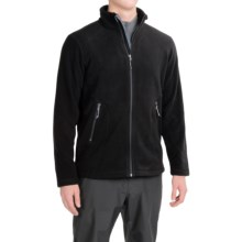 Double Diamond Sportswear Barton Fleece Jacket (For Men) in Black/Black/Chrome - Closeouts