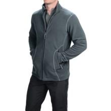Double Diamond Sportswear Barton Fleece Jacket (For Men) in Charcoal/Chrome - Closeouts
