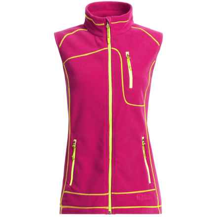Double Diamond Sportswear Bristol Fleece Vest (For Women) in Hot Pink - Closeouts