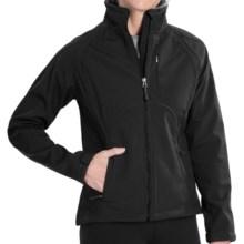 Double Diamond Sportswear Craftsbury Soft Shell Jacket (For Women) in Black - Closeouts