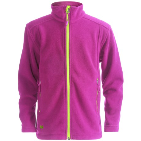 Double Diamond Sportswear Danby Fleece Jacket (For Toddlers and Kids) in Blossum