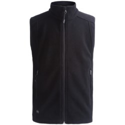 Double Diamond Sportswear Danby Fleece Vest (For Kids) in Black