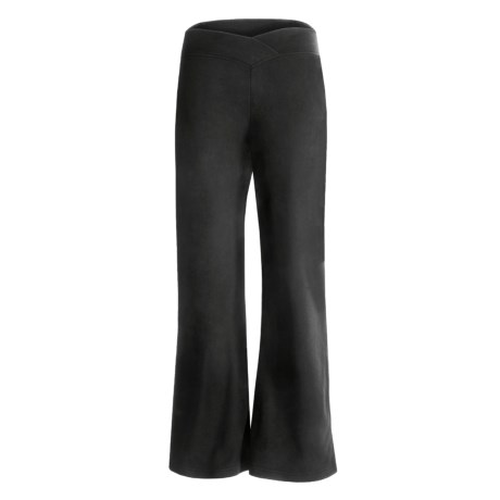 Double Diamond Sportswear Dara Pants - Fleece (For Women) in Black