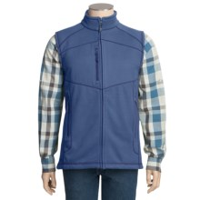 Double Diamond Sportswear Kopa Vest - Fleece (For Men) in Denim - Closeouts