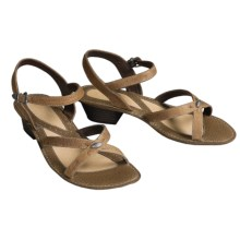 Double H Kendra Sandals - Leather (For Women) in Plaster - Closeouts
