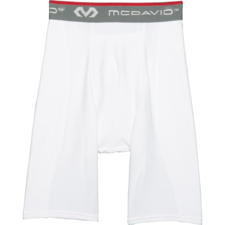 Mcdavid Classic Men/'s 8100 Compression Shorts White Large