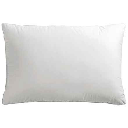 Down Inc. 230 TC Cambric Synergy Synthetic / Down Blend Pillow - Standard, Medium Support in White - Overstock