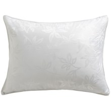 Down Inc. Arbor Jacquard 20 oz. Premium White Down Pillow - Queen, Soft Support in White - Closeouts