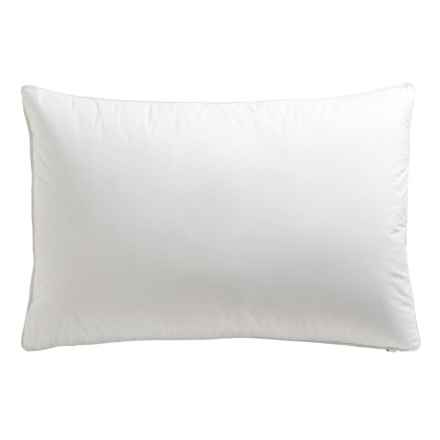 Down Inc. Cambric Premium White Duck Down Gusset Pillow - Queen, Firm Support in White - Overstock
