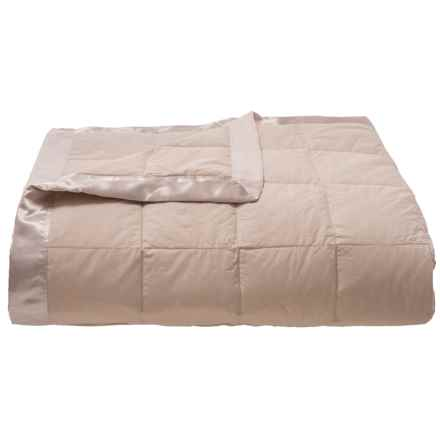 Down Inc. Endure Cotton Khaki Down Blanket - Full, 600 FP in Khaki - Closeouts