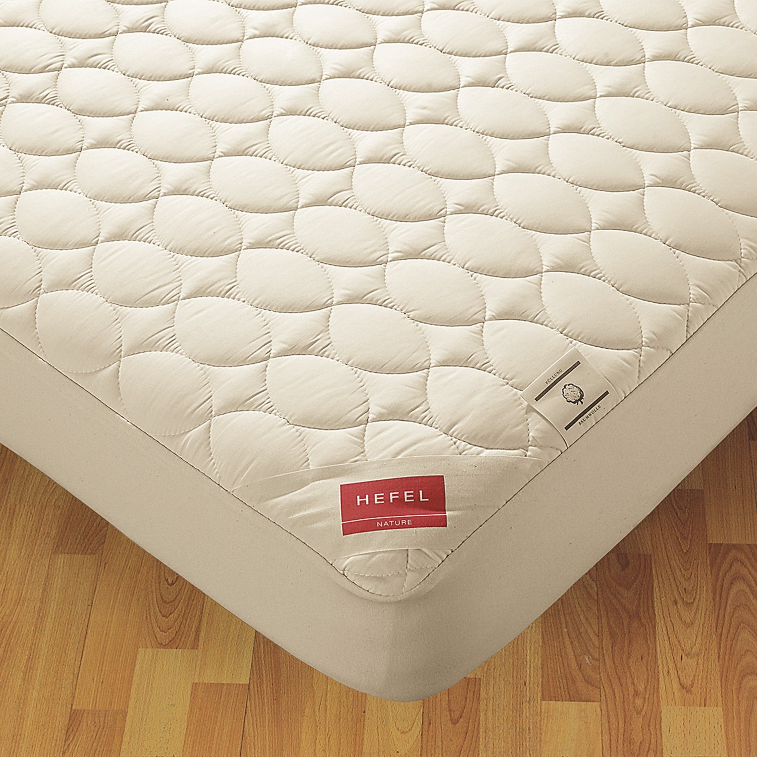 down inc hefel mattress pad california king save 45. Black Bedroom Furniture Sets. Home Design Ideas