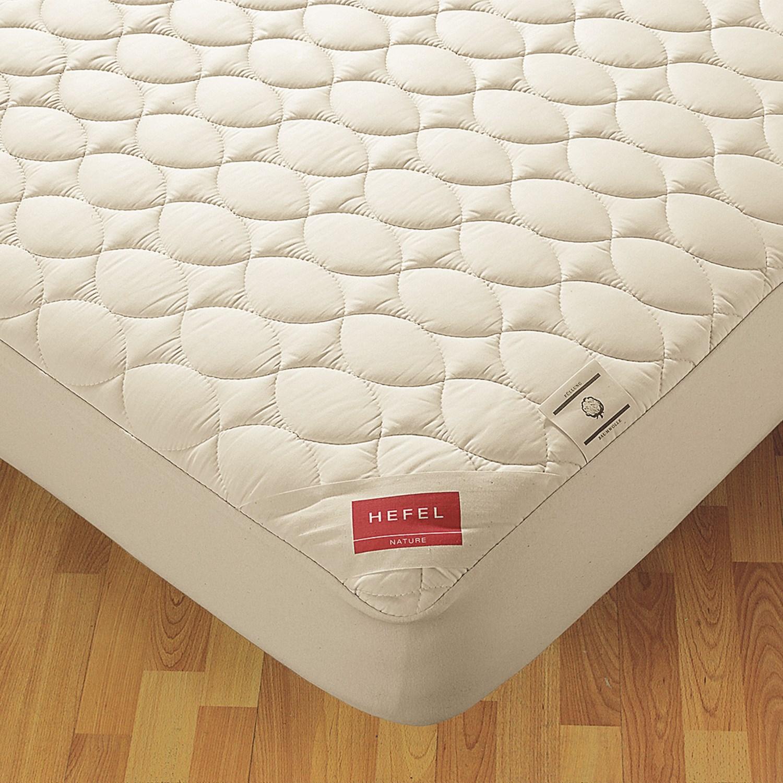 down inc hefel mattress pad california king save 45. Black Bedroom Furniture Sets. Home Design Ideas