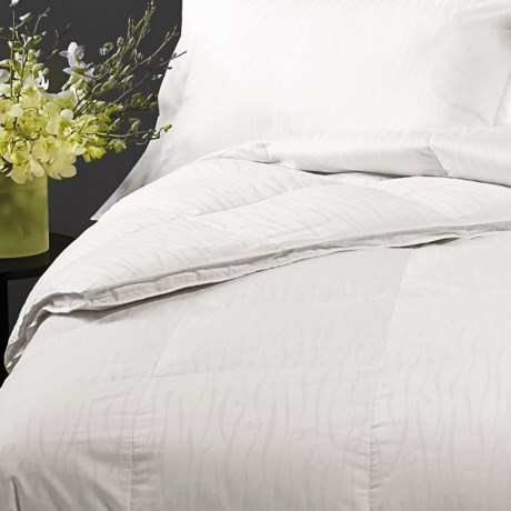 Down Inc. Jacquard Sausalito Down Alternative Comforter Queen, Heavyweight